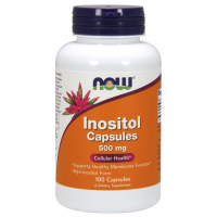 NOW Inositol 500 mg  (100 капс)