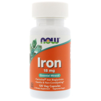 NOW Iron 18 mg (120 капс)