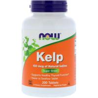 NOW Kelp 150 mcg (200 таб) - Йод