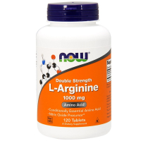 NOW L-Arginine 1000 mg (120 таб)