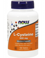 NOW L-Cysteine 500 mg