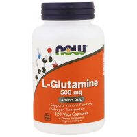 NOW L-Glutamine 500 mg