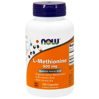 NOW L-Methionine 500 mg