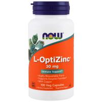 NOW L-OptiZinc 30 mg