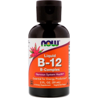 NOW Liquid B-12 B-Complex (59 мл)