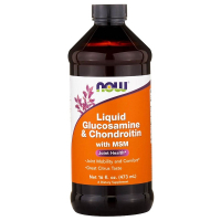 NOW Liquid Glucosamine & Chondroitin with MSM (473 мл)