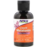 NOW Liquid Melatonin (59 ml)