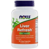 NOW Liver Refresh - Комплекс Для Поддержки Печени