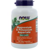 NOW Magnesium & Potassium Aspartate - Аспартат магния и калия