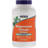 NOW Magnesium Citrate (гель капс)