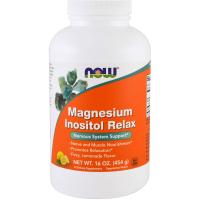 NOW Magnesium Inositol Relax (454 гр)
