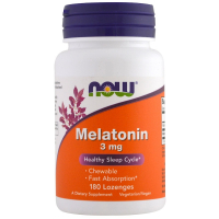 NOW Melatonin 3 mg (180 таблеток)