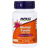 NOW Methyl Folate 1,000 mcg