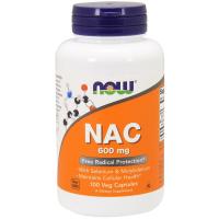 NOW NAC 600 mg (N-Ацетилцистеин)