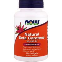 NOW Natural Beta Carotene 25000 IU