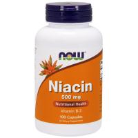 NOW Niacin 500 mg