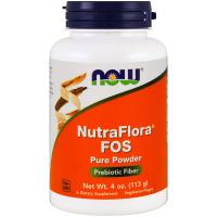 NOW NutraFlora FOS (113 гр)
