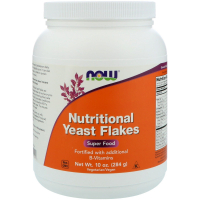 NOW Nutritional Yeast Flakes (284 гр)