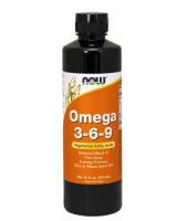 NOW Omega 3-6-9 Liquid (473 мл)