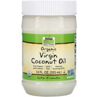 NOW Organic Virgin Coconut Oil - Органическое кокосовое масло первого отжима