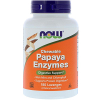 NOW Papaya Enzymes