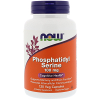 NOW Phosphatidyl Serine 100 mg (120 капс) – Фосфатидилсерин
