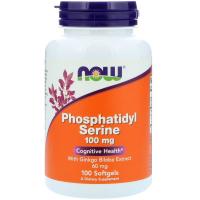 NOW Phosphatidyl Serine 100 mg – Фосфатидилсерин