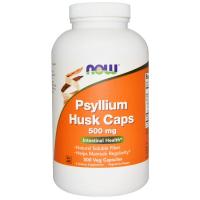 NOW Psyllium Husk Caps 500 mg - Шелуха семян подорожника