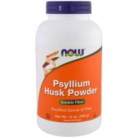 NOW Psyllium Husks Powder - Порошок из шелухи семян подорожника