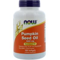NOW Pumpkin Seed Oil 1000 mg