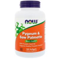 NOW Pygeum & Saw Palmetto