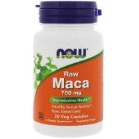 NOW Raw Maca 750 mg (Мака)