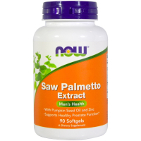 NOW Saw Palmetto Extract With Pumpkin Seed Oil and Zinc