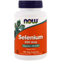 NOW Selenium 200 mcg - Селен