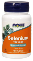 NOW Selenium 100 mcg - Селен