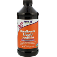 NOW Sunflower Liquid Lecithin (473 мл) - Подсолнечный лецитин жидкий