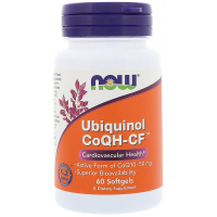 NOW Ubiquinol CoQH-CF