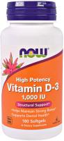 NOW Vitamin D-3 1000 ME