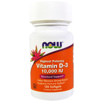 NOW Vitamin D-3 10000 ME