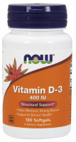 NOW Vitamin D-3 400 IU