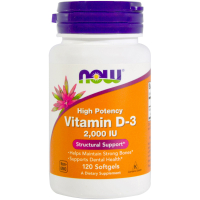 NOW Vitamin D-3 2000 ME