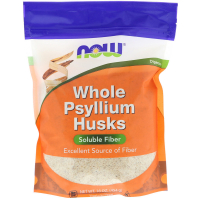 NOW Whole Psyllium Husks (454 гр)