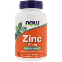 NOW Zinc 50 mg - Цинк