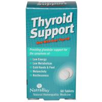 NatraBio Thyroid Support - Поддержка щитовидной железы