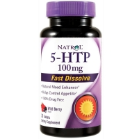 Natrol 5-HTP 100 mg Fast Dissolve (30 таб)