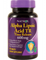 Natrol Alpha Lipoic Acid 600 мг Time Release