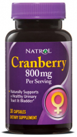 Natrol Cranberry Extract 800mg  (30 капc)