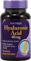 Natrol Hyaluronic Acid 40 mg