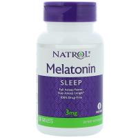 Natrol Melatonin 3 mg (60 таб)