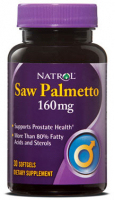 Natrol Saw Palmetto 160 mg (30 капс)